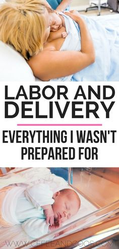Labor and Delivery!  Everything I wasn't prepared for when it came time to meet my baby.  First time moms learn what to expect on the big day.  Prepare for labor and delivery by learning from another mom! #pregnancy