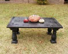 Hey, I found this really awesome Etsy listing at https://www.etsy.com/listing/84845761/ebony-balustrade-coffee-table