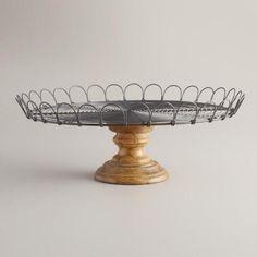 Serveware - Tableware - Edin Pedestal Stand | World Market (($))