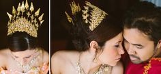 Yellow and orange and purple, oh my! Day 1 of a Cambodian wedding in Massachusetts | Offbeat Bride
