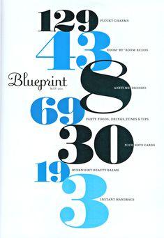 Blueprint Magazine - design inspiration