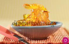 Κυδώνι, γλυκό του κουταλιού   Dina Nikolaou Greek Sweets, Macaroni And Cheese, Spoon, Grilling, Cooking Recipes, Pudding, Cookies, Fruit, Cake