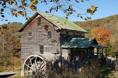 White's Mill is a 150-year-old flour and grist mill located 3.5 miles from Abingdon. One of the only water-powered mills in existence in Southwest Virginia. The mill is a Virginia Historic Landmark.