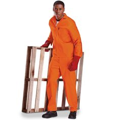 Overalls make for perfect branded work wear options, available across South Africa from Brand Innovation.