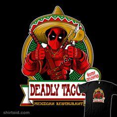 Deadly Tacos #comic #comics #deadpool #fernandosalasoler #marvelcomics #restaurant #sombrero #taco