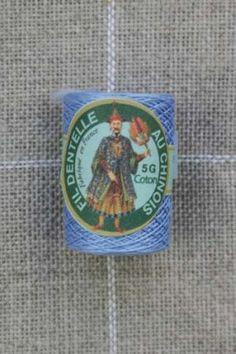 Farbiges Klöppelgarn Cocon Calais Nr. 6752  babyblau