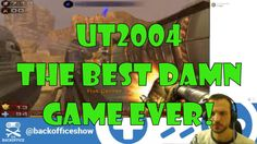 Retro Time - Unreal Tournament 2004 I play the cracking and frankly game-changing Unreal Tournament 2004. Great Bots! http://youtu.be/0NX0J0WZxns