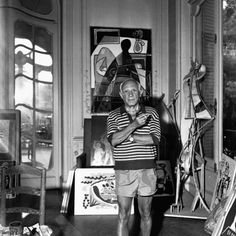 Artist, bohemian, lover and general badass, señor Pablo Picasso.