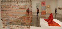 Turning craft into art - fiber arts exhibit at Boston's Institute of Contemporary Art