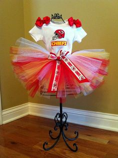 Kansas City Chiefs tutu outfit