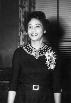 Elegance Personified: Mrs. Daisy Bates (Nov 11, 1914 - November 4, 1999) Civil Rights activist, publisher, writer, and woman of courage. Thank You!