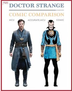 "2,759 Likes, 15 Comments - • Accurate.MCU • mcu fanpage (@accurate.mcu) on Instagram: ""• DOCTOR STRANGE - COMIC COMPARISON 2.0 • I love how Doctor Strange his costume evolved through out…"""