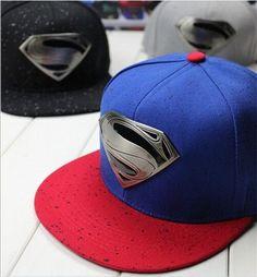 2014 New Fashion S Superman Hip-hop Baseball Cap Adjustable Snapback Unisex  #New #BaseballCap