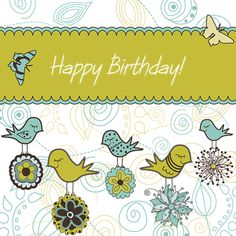 printable happy birthday cards and envelopes