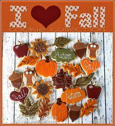 CookieCrazie: I ♥ Fall Cookies