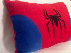 Spiderman Pillow by SewAshleigh on Etsy, $40.00