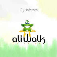 Ali Walk Children Logo Design