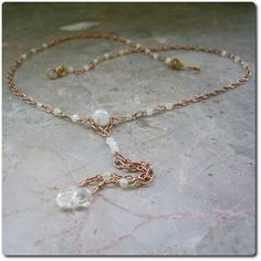Pia Bridesmaid Necklace available in 6 colorways from Echo Moon Jewelry