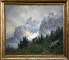 Wolff – Il Passo Sella – Murfreit | Antichità Missaglia