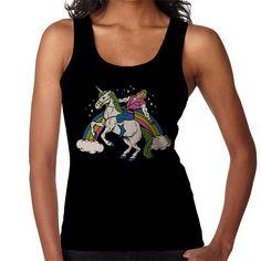eb504730b11485 She Man Unicorn Riding He Man Women s Vest. Cloud City 7
