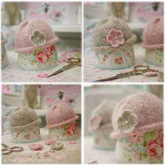 2 Knitting Pattern Deal/ 4 TEAROOM Dolls / di maryjanestearoom