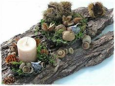 15 Fabulous Christmas Candle Decoration Ideas To Delight Your Holiday Sumcoco Rustic Christmas, Christmas Wreaths, Christmas Crafts, Christmas Ornaments, Christmas Ideas, Christmas Candle Decorations, Holiday Decor, Christmas Candles, Christmas Table Scapes