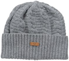 f8ce6969900 Amazon.com  Fred Perry Men s Filey Gansey Beanie