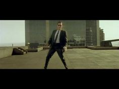 ▶ The Matrix - Bullet time + Helipad Fight Scene Super High Quality - YouTube
