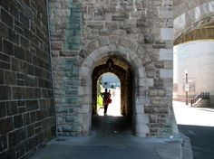 One of the five gates into the Old City