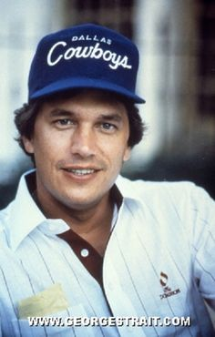 George Wearing a Dallas Cowboys Ball Cap