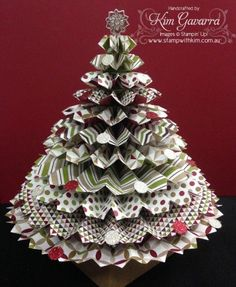 Rosette Christmas Tree #2 http://www.stampwithkim.com.au/blog/?p=2507 | Stampin' Up! | Pinterest ...
