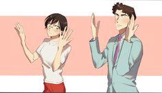Dance with shiratori and kobayashi Manga Anime, Anime Art, Dc Police, Dc Couples, Detective Conan Wallpapers, Gosho Aoyama, Detektif Conan, Magic Kaito, Case Closed