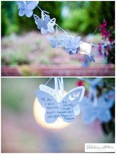 Wedding guest book alternative from The Katherine Ashdown Blog
