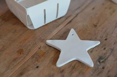 audrey fitzjohn - air-dry clay + star-shape cookie cutter