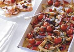 #Recept: Geroosterde groenten met basilicumsaus http://ift.tt/2eCYRgx #Hoofdgerechten
