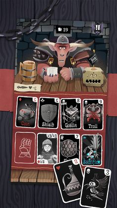 Card Crawl (iOS) • ★★★★☆ • A fun little card game, solitaire style with a twist.
