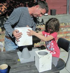 Slip Casting Ceramics at home. Would love to do this with the kids. Like 1st year art in college. :-)