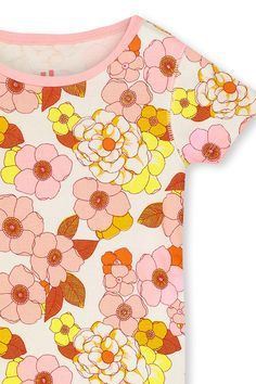 Baby Girls Romper Jumpsuit Hawaii 80s Sunset Organic One-Piece Kid Pajamas Clothes