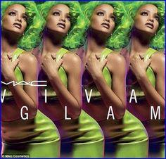 MAC Unveils #Rihanna's New Viva Glam Makeup Collec...