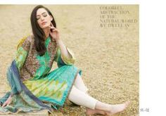 Latest Lawn Dresses 2015 by Sobia Nazir for Girls (1)