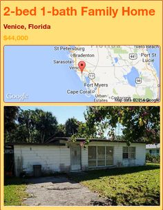 2-bed 1-bath Family Home in Venice, Florida ►$44,000 #PropertyForSale #RealEstate #Florida http://florida-magic.com/properties/81292-family-home-for-sale-in-venice-florida-with-2-bedroom-1-bathroom