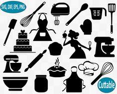 Baking SVG Bundle, Bakery svg, Kitchen svg, Baking heart svg, mom svg, cooking svg, apron svg, svg f