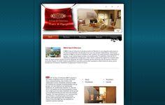 Sviluppo sito web per il Bed and Breakfast A casa di Vittoriana di Montorio al Vomano, in provincia di Teramo. Sito internet hotel Abruzzo. Siti web B&B