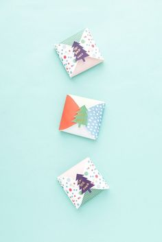 Last-Minute Foldable Gift Boxes