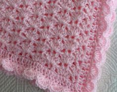 """Pastel Waves Baby Afghan 
