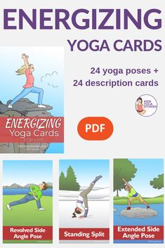 320 best yoga cards for kids images in 2019  yoga poses