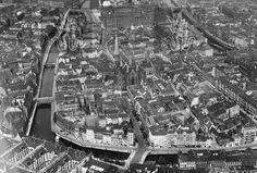 Berlin: Alt-Cölln, Fischerinsel 1939 mit Petriplatz und Spittelmarkt