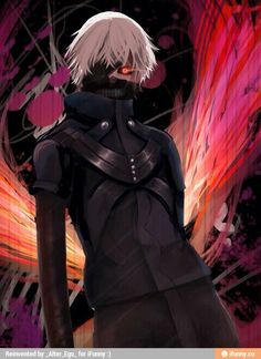 Those colors in the background complement you kaneki-kun Anime Demon, Manga Anime, Anime Art, Tokyo Ville, Tokyo Ghoul Pictures, Ken Kaneki Tokyo Ghoul, Tokyo Ghoul Wallpapers, Anime Guys, Anime Characters
