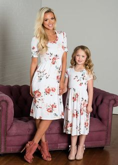 fbb210b6c3e7 11 Best mommy daughter clothes images | Matching couple outfits ...