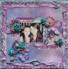 Project by Angelica Franssen using the January Whimsy kit.